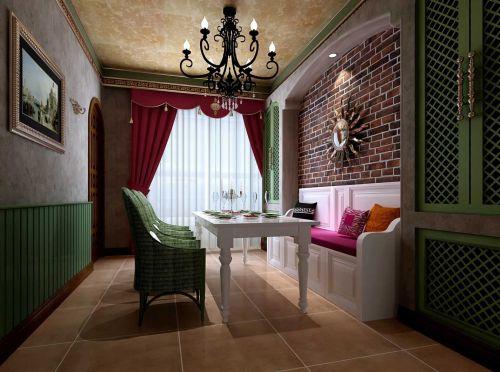 两居室地中海餐厅装修展示
