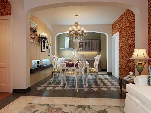 2015地中海装修风格餐厅图片