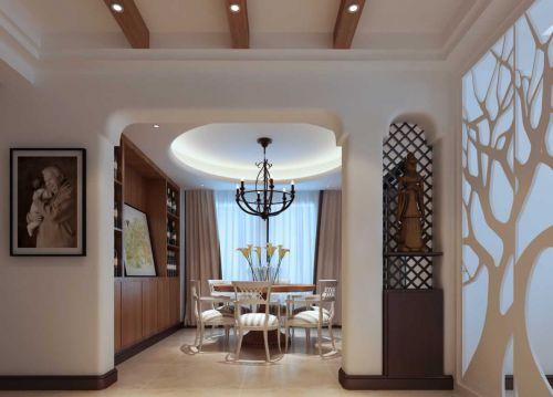 地中海风格餐厅设计欣赏