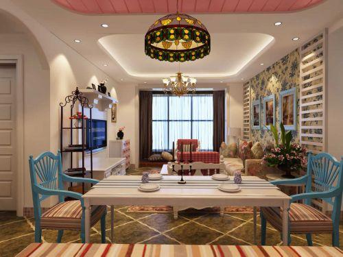 地中海装修风格极简餐厅设计
