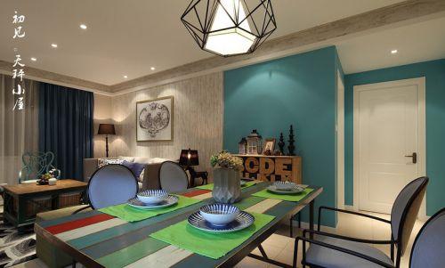 混搭三居餐厅设计效果图片