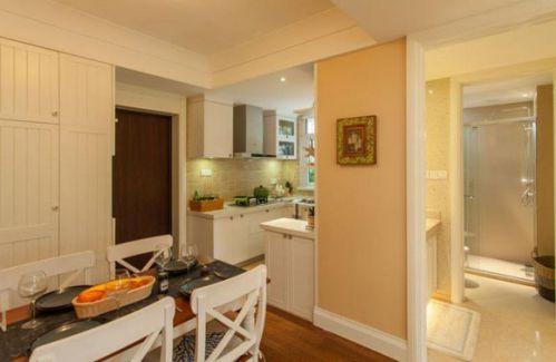清新地中海风格两居室餐厅餐桌设计