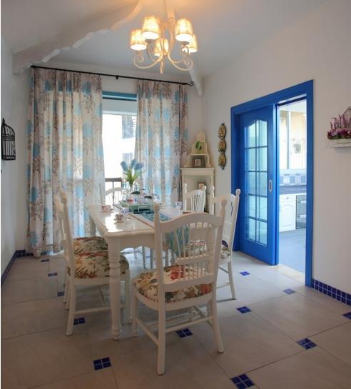 地中海设计风格餐厅图片