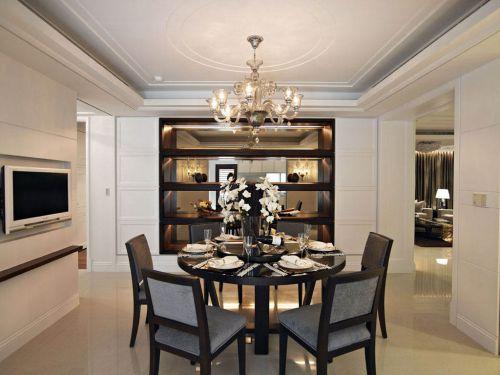 新古典豪宅餐厅设计效果图