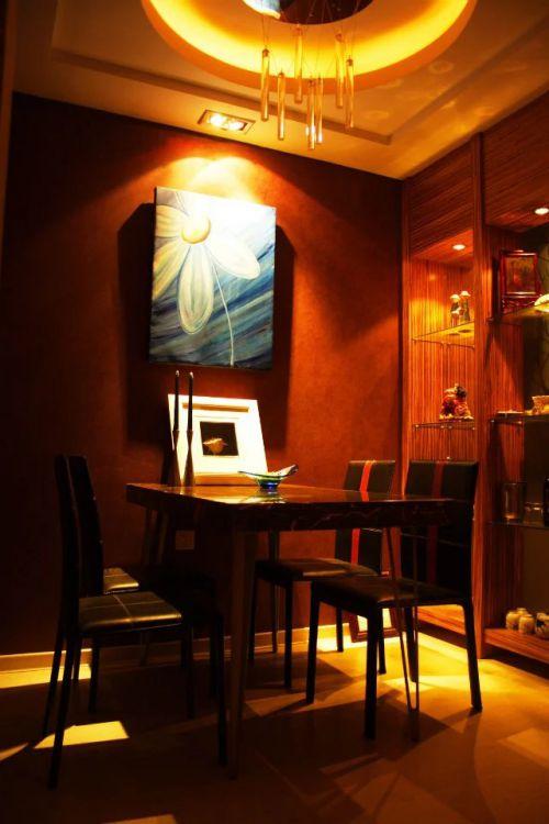 东南亚风格餐厅装修图片