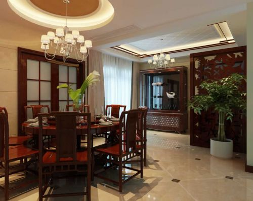 东南亚风格别墅餐厅设计
