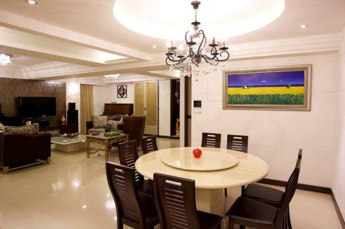 四居室新古典风格餐厅效果图