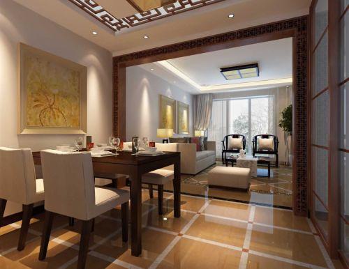 东南亚简约餐厅效果图欣赏
