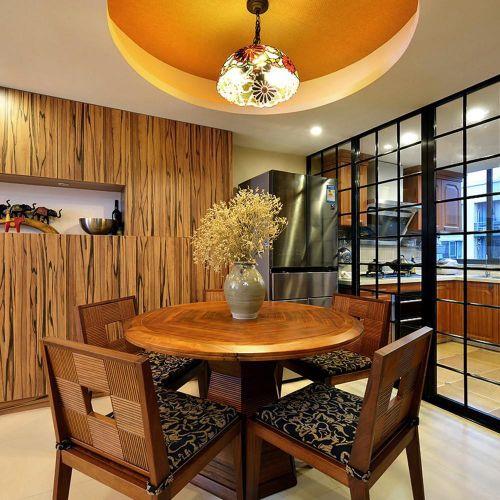 泰妃阁东南亚装修风格餐厅吊顶图片
