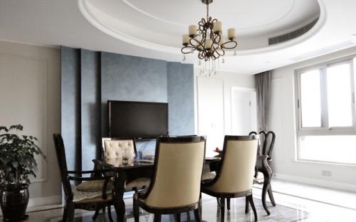 新古典别墅餐厅设计欣赏