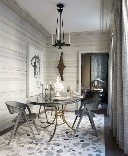 公寓新古典风格餐厅效果图