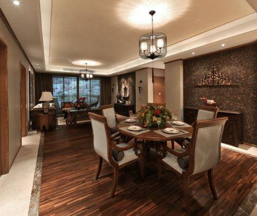 东南亚设计风格餐厅图片