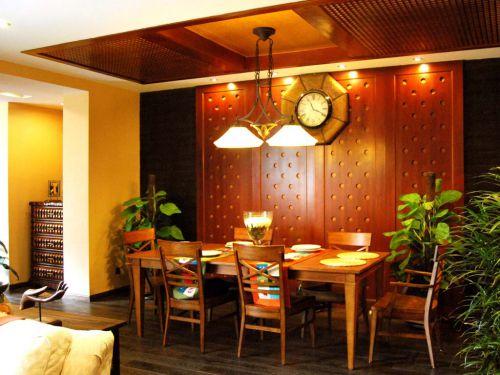 东南亚风格餐厅图片