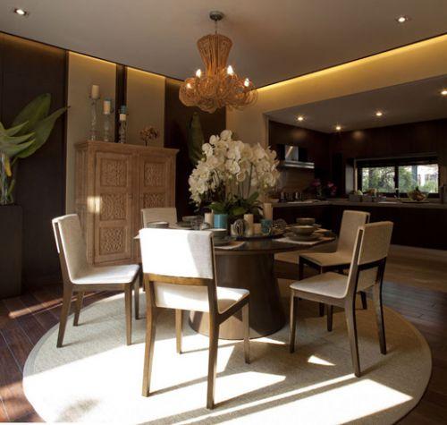 典雅东南亚风格餐厅图片
