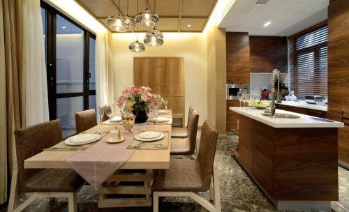 日式简约公寓家居厨房餐厅设计