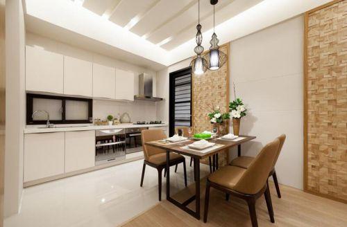 日式风格现代两居室厨房餐厅设计