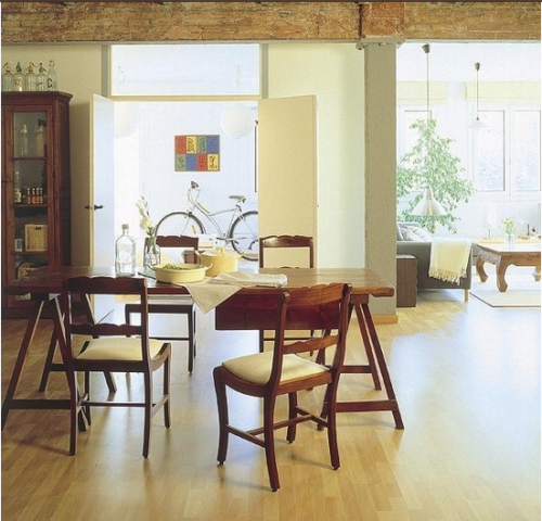 一居室日式风格餐厅图片