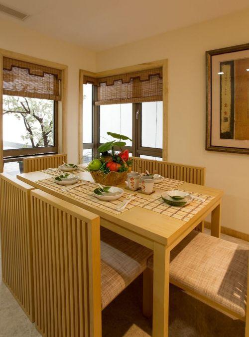 日式样板房餐厅图片欣赏