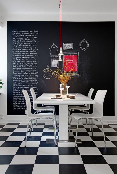 时尚简约欧式风格餐厅效果图