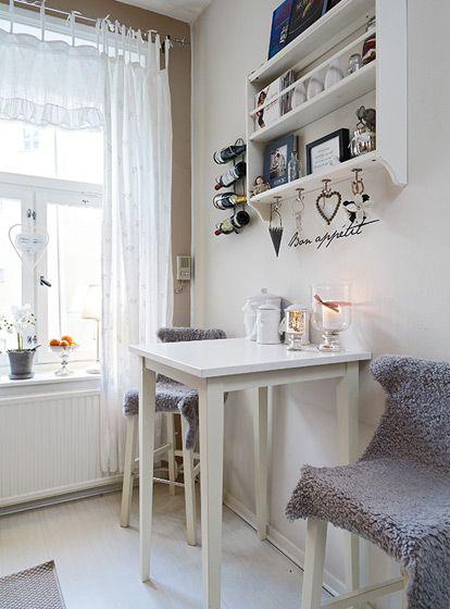 北欧单身公寓餐厅图片