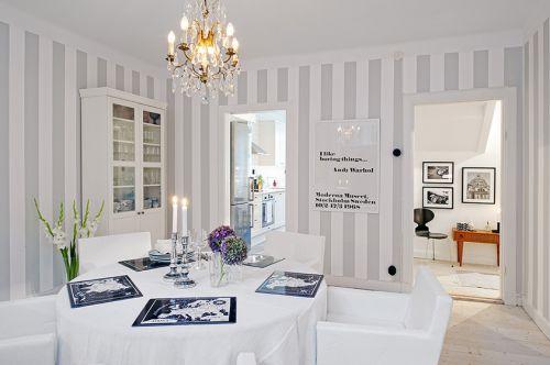北欧清新公寓餐厅效果图片