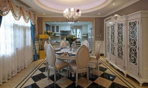 欧式风格别墅餐厅设计