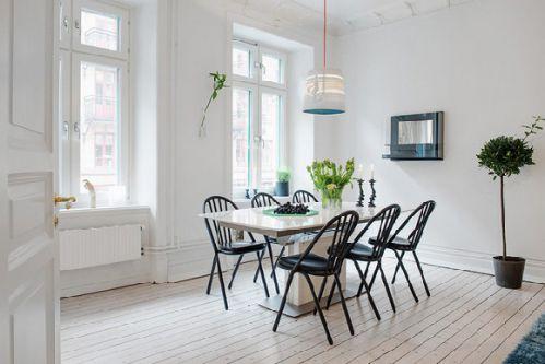 北欧简约家居餐厅设计效果图欣赏