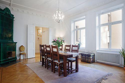 北欧古典家居餐厅图片
