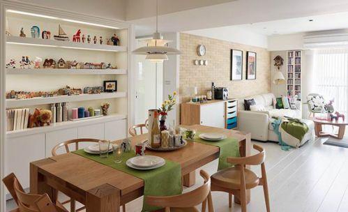 北欧风格实木餐厅装饰设计