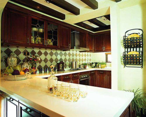 东南亚半开放式厨房设计