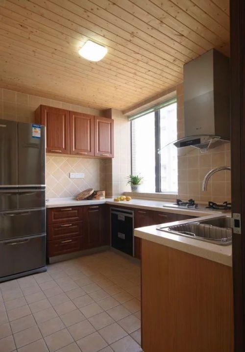 东南亚风格厨房效果图整体橱柜