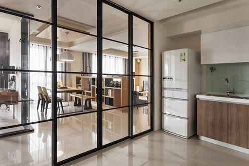 现代简约厨房隔断设计