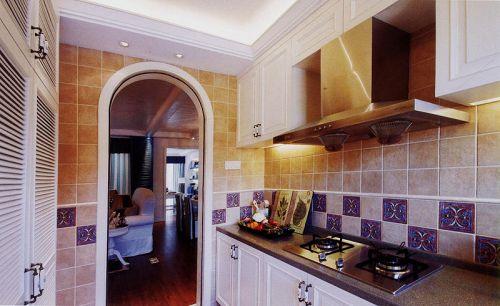 98平米地中海风格厨房整体橱柜设计
