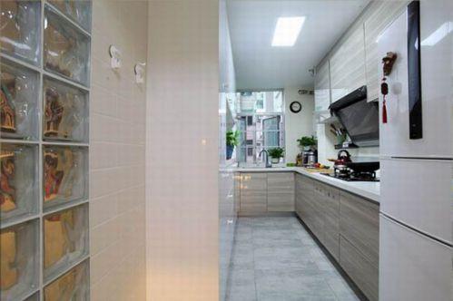 经典小户型改造厨房背景墙装修效果图