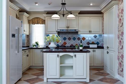 地中海装修风格厨房图片