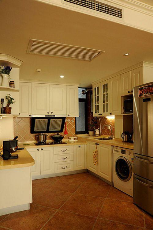 地中海风格家居厨房效果图