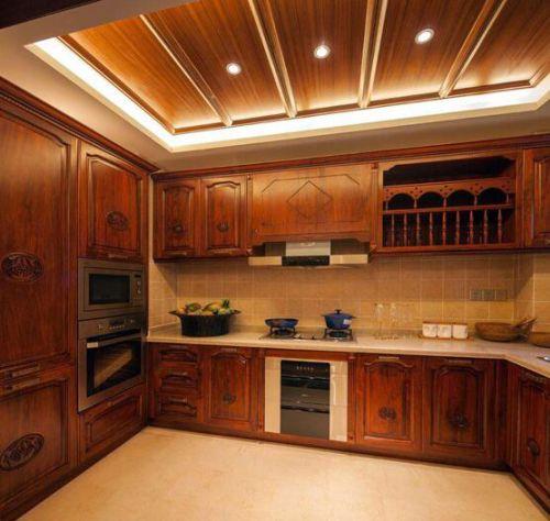 东南亚异域风情三居室厨房设计效果图