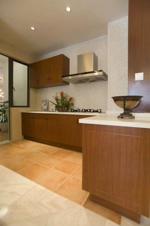 东南亚风格厨房橱柜设计图片