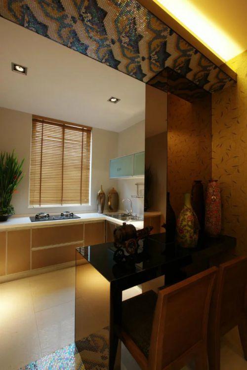 东南亚风格厨房设计欣赏图片
