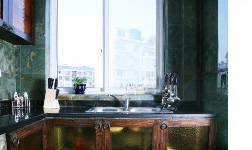 东南亚风格厨房水槽设计图片