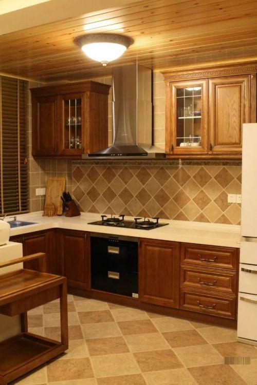 东南亚风格厨房整体橱柜设计