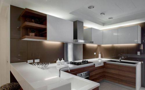 混搭四居厨房厨具收纳装修图片