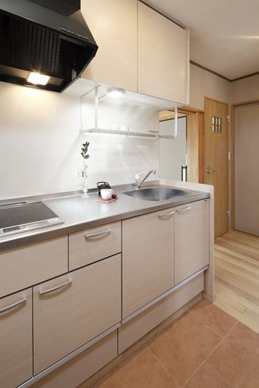 沿海赛洛城厨房整体橱柜效果图