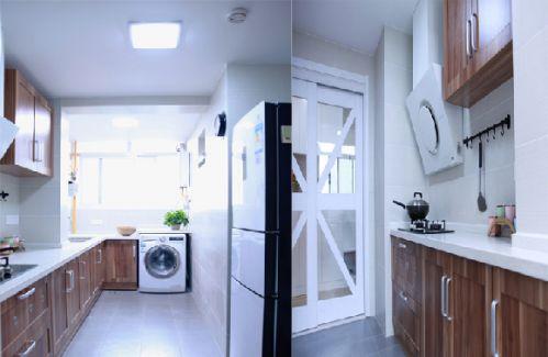 日式设计风格厨房图片