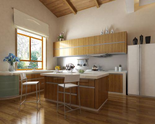 日式家居实木厨房图片大全