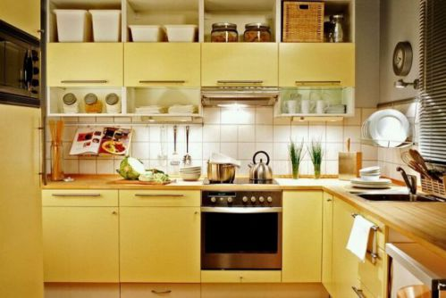 混搭4平米厨房装修设计效果图