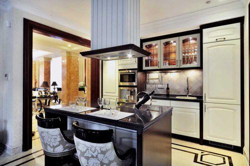 新古典风开放式厨房设计