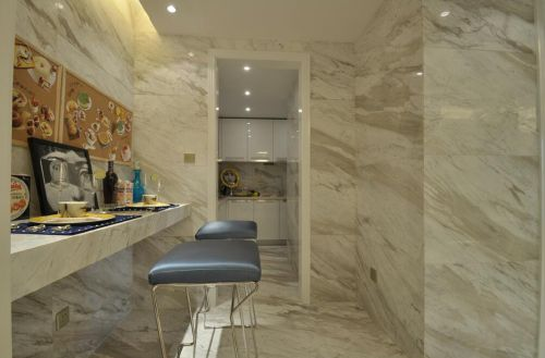 87平新古典风格厨房装修设计