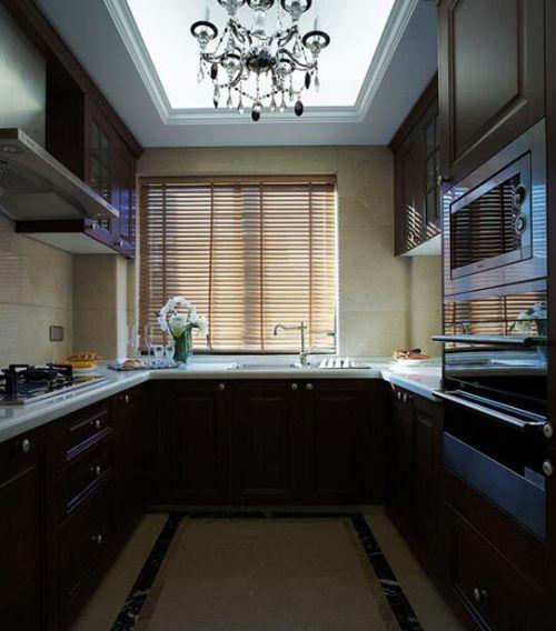 89平新古典风格厨房装修设计