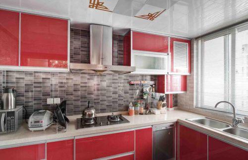 现代古典风格别墅厨房设计